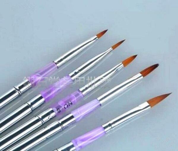 鑽石堂美甲:美甲●現貨供應●【鋼管水晶筆】美甲工具水晶筆光療甲必備組合式~L-1