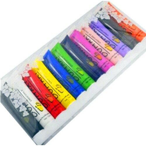 美甲~12色彩繪顏料 12ml~3D排筆畫顏料OUMAXI 美甲 畫花 拉花 指~G14~
