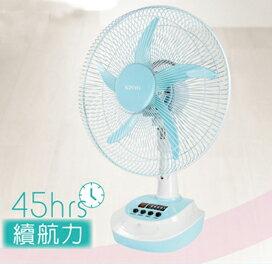 <br/><br/>  KINYO 耐嘉 14吋 充電式風扇 CF-1401<br/><br/>