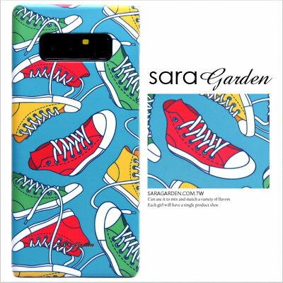 SaraGarden:客製化手機殼三星Note8S8S8+S7S6EdgeNote5Note4Note3J2J5J7PrimeA3A5A7A8A9201520162017C9Pro保護殼潮流帆布鞋