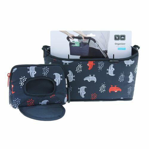 ★衛立兒生活館★德國 ABC Design 嬰兒推車掛袋組-微笑鱷魚