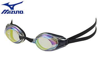 N3TF600300 穿戴舒服的矽膠墊片及頭帶鏡面泳鏡、常泳者最佳選擇【美津濃MIZUNO】