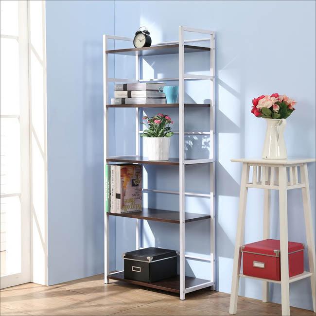 防潑水實用五層置物架 書架 書櫃 收納架 收納櫃【馥葉】 型號SH6314