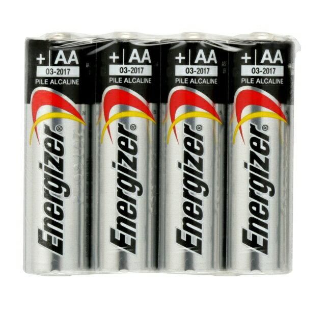 勁量鹼性電池3號4顆