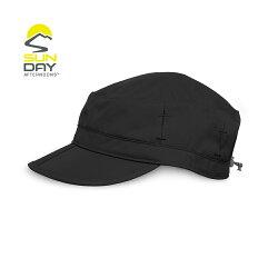 美國 Sunday Afternoons 抗UV防潑透氣報童帽(鏡腳置孔 黑 Sun Tripper Cap (M & L) -SAS2A06076B-302