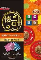 日清懷石 2dish 系列 枕崎鰹魚口味綜合貓糧 800g 飼料 日本國產 (國際包裝)