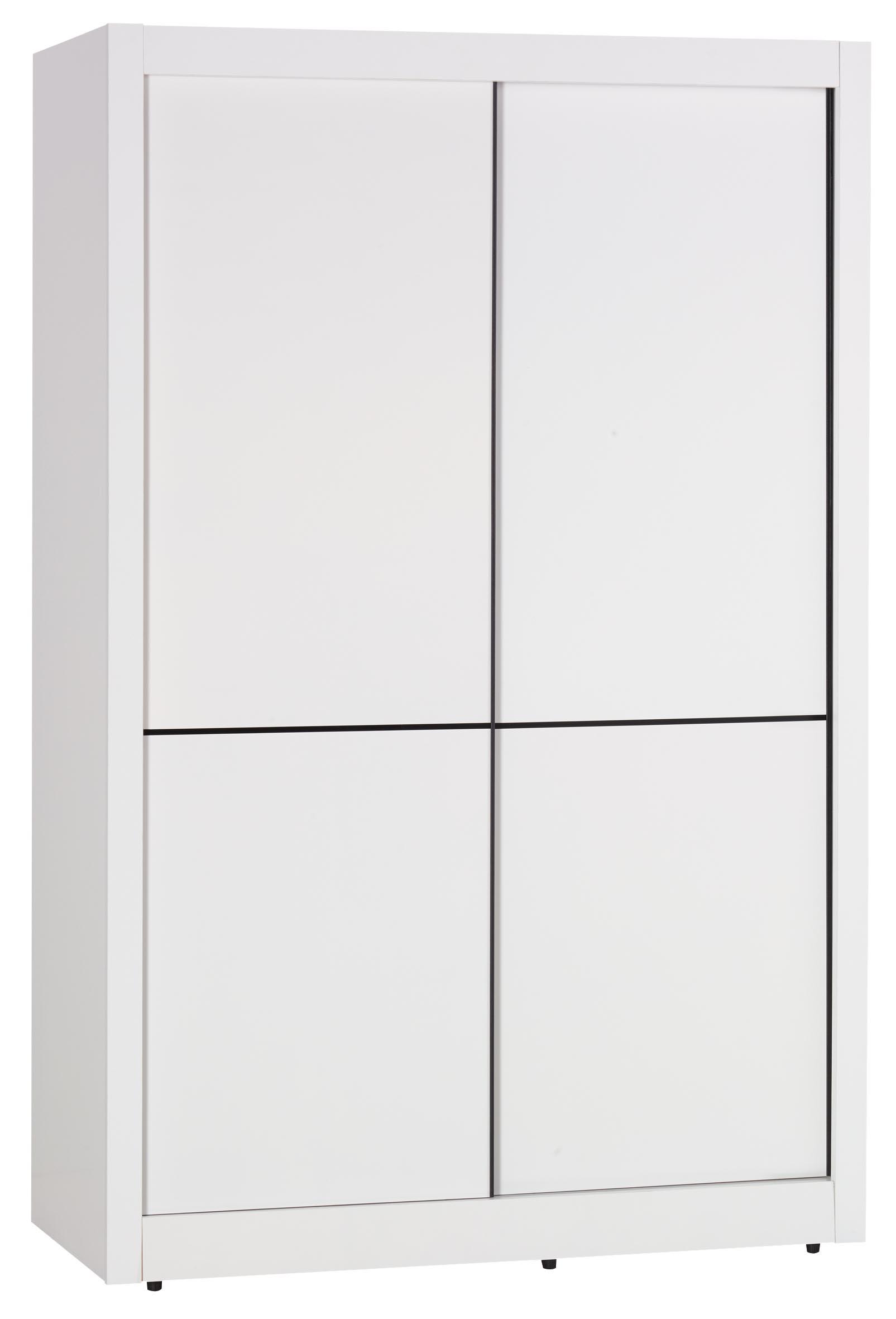 【簡單家具】,S19-9 雪白4尺推門衣櫥/推門衣櫃(另售6尺),大台北都會區免運費!