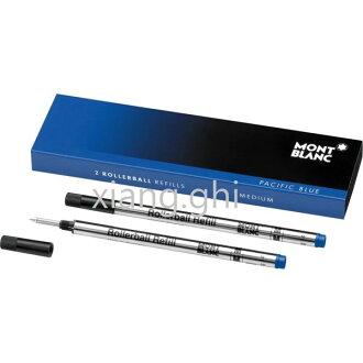 萬寶龍MONTBLANC鋼珠筆芯-105159-(M)藍色-粗-*2支~另有(F)藍色-(F)黑色-(M)黑色~特價~保證正原廠真品!!