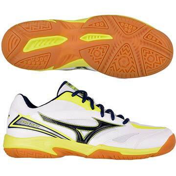 71GA174014(白X黑灰X螢光黃)GATESKY基本型體寬楦羽球鞋A【美津濃MIZUNO】