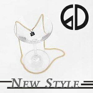 ☆ New Style ☆ BIGBANG 權志龍 GD 韓國進品 個性單品 同款金色天梯長鏈 項鍊 ( 單條 )