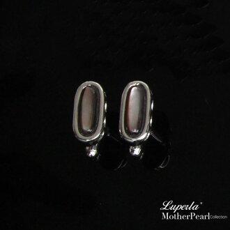 大東山珠寶 法式品味男士系列 都會紳士純銀扣 卵石
