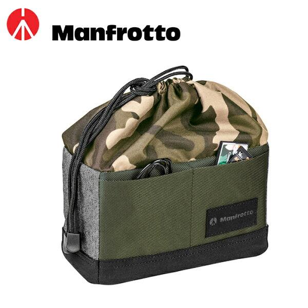 ◎相機專家◎免運費ManfrottoMBMS-P-GR街頭玩家微單眼相機袋內袋內套公司貨