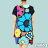 【Milida,全店七折免運】-夏季尾聲-一字領-造型花朵洋裝 2