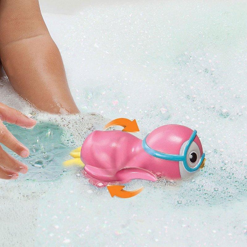 munchkin滿趣健游泳企鵝洗澡玩具(粉MNB44925P) 200元