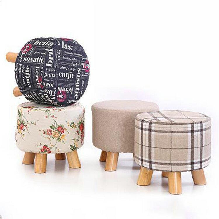 【葉子小舖】簡約小矮凳/小凳子/小椅子/休閒椅/休憩椅/家具擺設/四腳款/三角椅