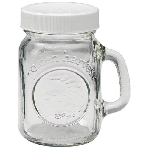 Jarden 40501 4 oz. Salt/Pepper Shaker with White Lid