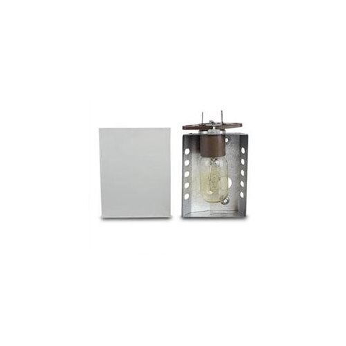 Ronco Inventions Ronco Showtime Rotisserie 3000 Light Assembly Replacement With Glass Cover 9c36e2c242f04e338aea87877b2c76b7