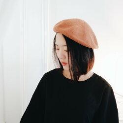 日本直送 針織毛帽貝蕾帽