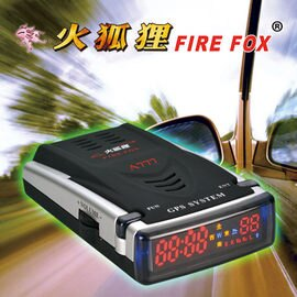 火狐狸 GPS-A777 GPS衛星定位行車安全警示器-衛星定位全頻警示器 原廠保固 贈小除塵器