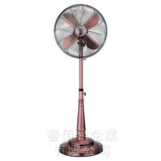LAPOLO 藍普諾16吋復古風扇-FD-40M (1台) 電風扇 電扇 涼風扇 立扇 立地電扇 復古裝飾 典雅大方 台灣製造