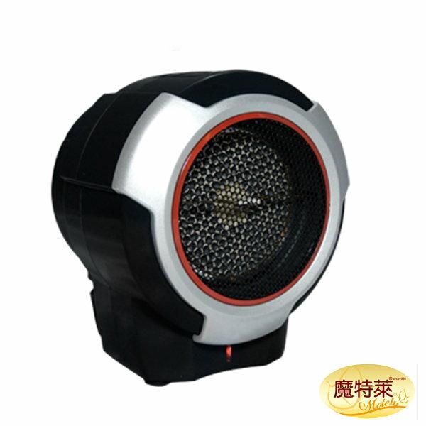*新貨到*《魔特萊Motely》迷你遠紅外線陶瓷旋風電暖爐/電暖器-RD-9021-防傾倒斷電/保暖/禦寒/負離子/多段溫控/定時