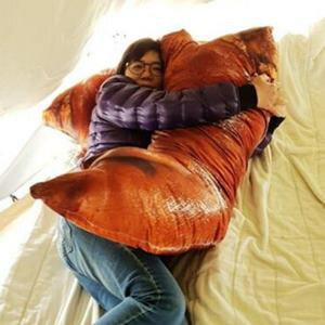 美麗大街【107031206E3】仿真豬蹄靠墊午睡卡通趴睡午休枕頭(90cm)
