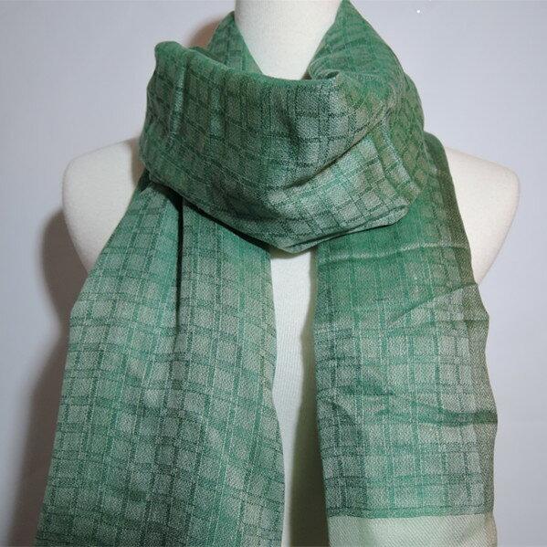 【喀什米爾圍巾】100%Pashmina鑽石編織珠光CASHMERE圍巾-(W10EIN004)