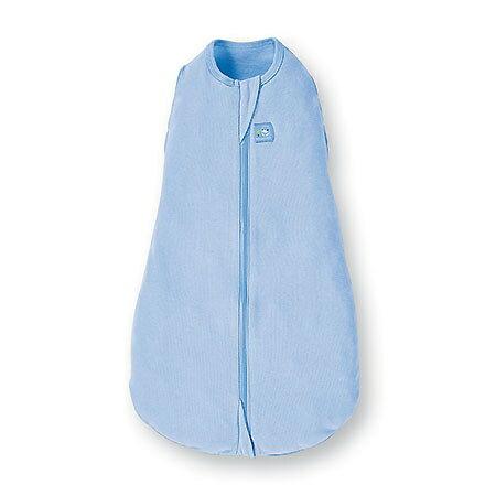 【淘氣寶寶】酷咕鴨 KUKU 超好眠懶人包巾 希望藍