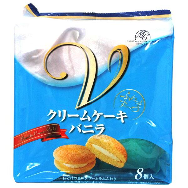 餅之鋪食品暢貨中心:柿原香草夾心蛋糕152g包