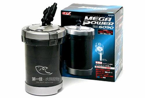 [第一佳 水族寵物] 日本五味GEX MEGA POWER 圓桶過濾器 [6090型] 免運