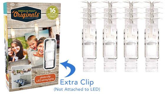 Photo Clip 16 LED String Lights 1