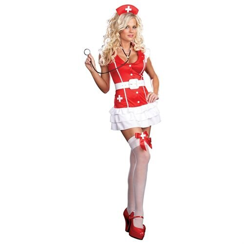 Womans Sexy Vital Signs Costume 0