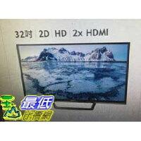 SONY 索尼推薦到[COSCO代購 如果沒搶到鄭重道歉] SONY 32 HDR 連網液晶電視 KDL-32W610E _W171001