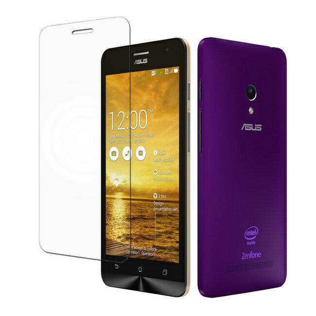 高透光ASUS Zenfone5(A500/A501) 5吋螢幕保護貼(一組2入)