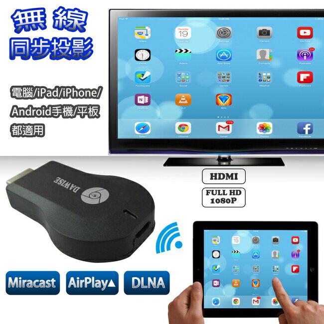 WD01无线萤幕同步分享器(支持Airplay/Miracast/DLNA)