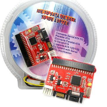 <br/><br/>  SATA與IDE雙向轉接卡<br/><br/>