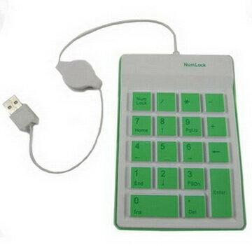<br/><br/>  五彩繽紛USB數字鍵盤(顏色隨機出貨)<br/><br/>