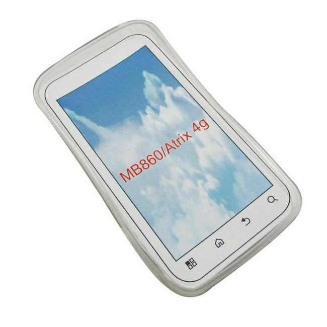Motorola MB860/Atrix 4G手機保護清水套
