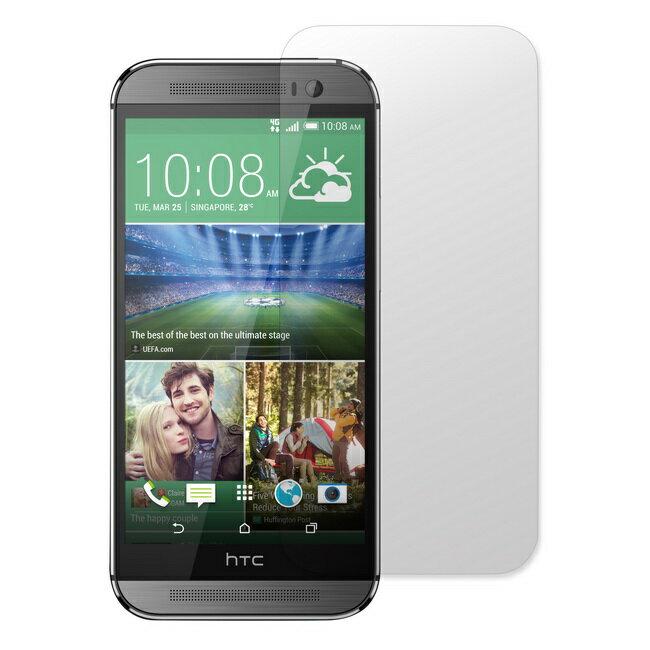HTC One(M8)手機 高透光螢幕保護貼(一組2入)