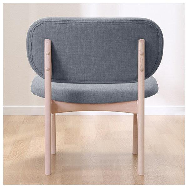 ◎(OUTLET)實木餐椅 RELAX WW / GY 橡膠木 福利品 NITORI宜得利家居 3