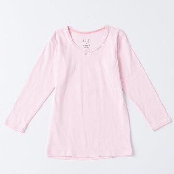 ELLE 女童圓領長袖上衣(超值兩件組)【中揚精品】E2258A