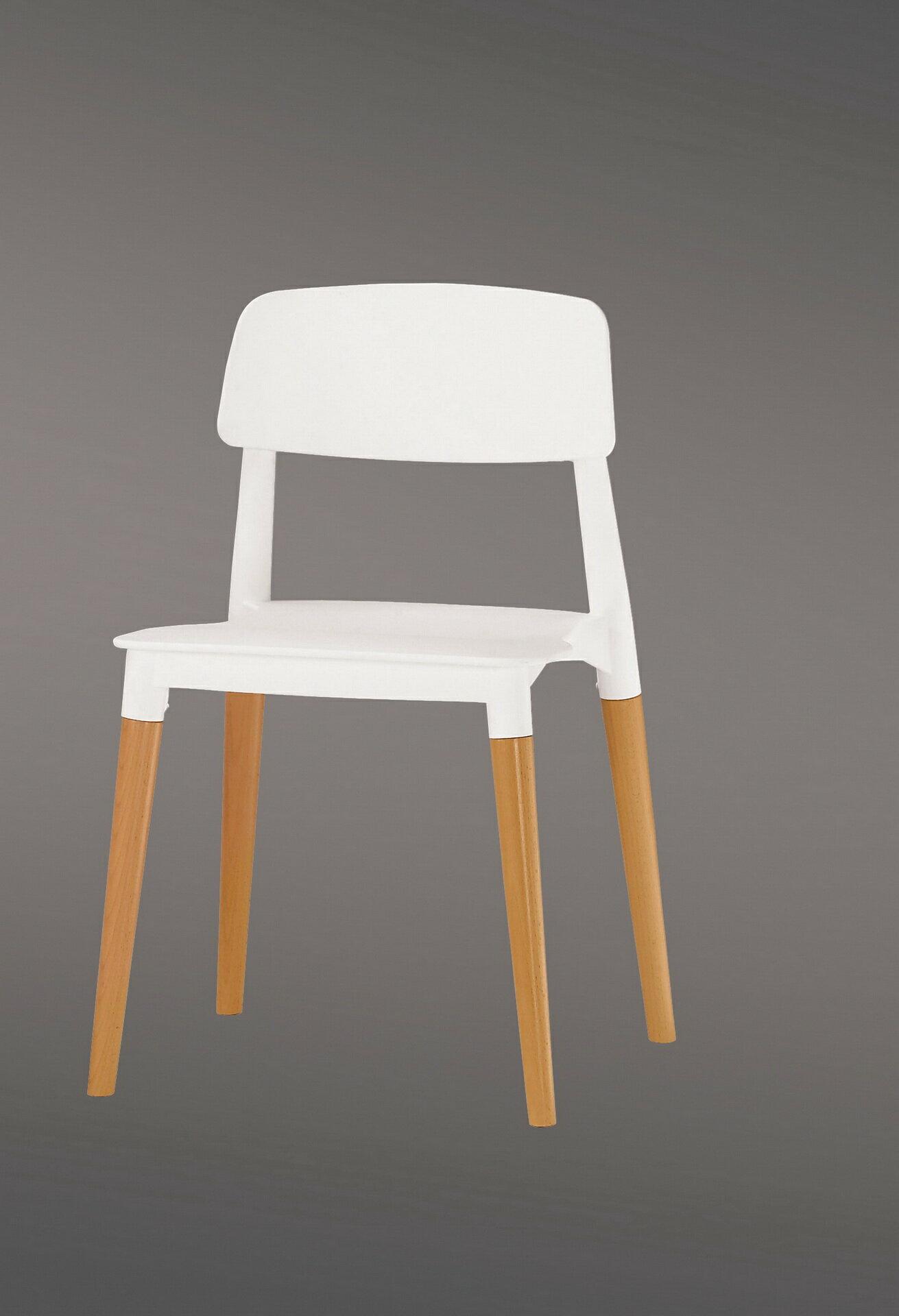 【尚品傢俱】CM-522-10  奧斯本造型椅(白)(實木)