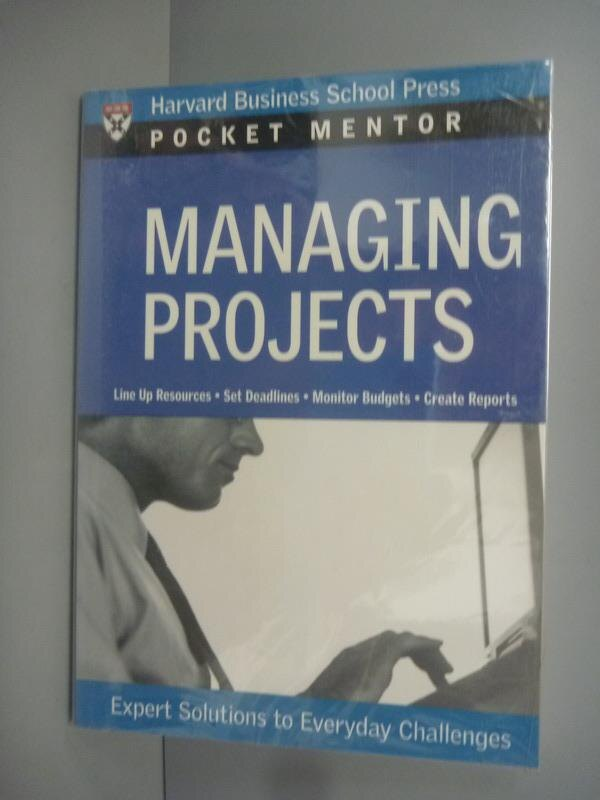~書寶 書T8/財經企管_KFL~Managing projects:expert sol