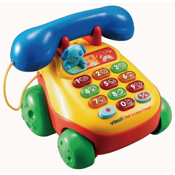 Vtech 歡樂學習電話 Pull n Learn Phone