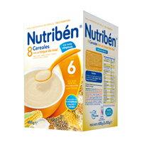 【安琪兒】西班牙【Nutriben 貝康】貝康8種穀類強鈣奶麥精