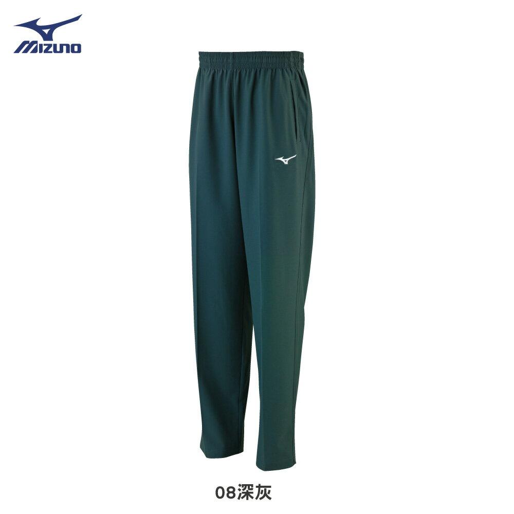 男款針織長褲 32TD8A3808(深灰)【美津濃MIZUNO】