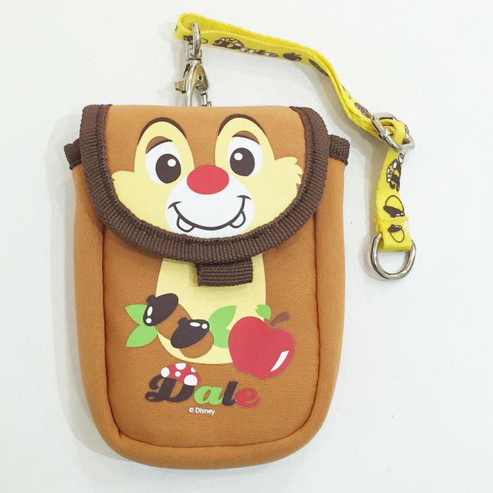 迪士尼 蒂蒂 手機袋 附掛繩 提袋 復古 配件 日本製 正版日本進口 * JustGirl *