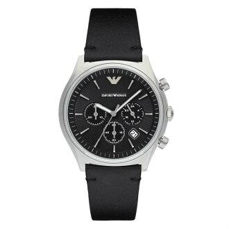 EMPORIO ARMANI AR1975 城市經典時尚計時腕錶/黑面43mm