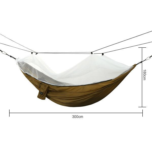 Oxford Mesh Waterproof Hanging Folding Garden hammock 4