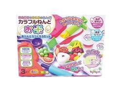 日本 Toyroyal 樂雅 米黏土系列-幸福便當組 7348【紫貝殼】
